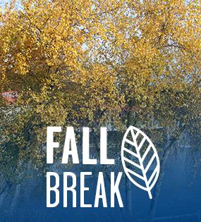 Fall Break - No Classes