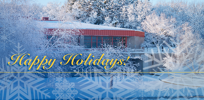 Students, staff and faculty of Waukesha County Technical College wish you joyous holiday season. The College will close at 6 p.m. Tuesday, Dec. 23 and reopen for business Friday, Jan. 2. The spring 2015 semester officially begins Friday, Jan. 16.