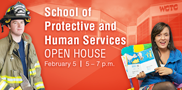 Interested in a career in the protective or human services field? Check out WCTC's School of Protective & Human Services open house set for Thursday, Feb. 5, from 5-7 p.m., in the Service Building.