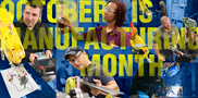 The State of Wisconsin has declared October as Manufacturing Month, and Waukesha County Technical College is proud to offer a wide range of manufacturing programs – from certificates through associate degrees -- in the School of Applied Technologies.