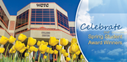 Bravo to students who will receive honors at the WCTC Spring Awards Program set for Thursday, May 5, in the RTA Center! Graduating students will be honored for their leadership, commitment to their studies and involvement in organizations.