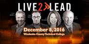 Join local professionals December 8th for the keys to live purposefully from world-class leadership experts. Hosted by WCTC\'s School of Business.