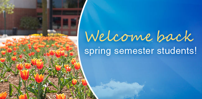 Whether you are a new or returning student, WCTC's faculty and staff are excited to have you on campus! The spring semester officially begins on Friday, Jan. 20. See you in class!