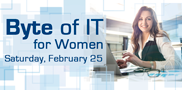 Interested in working in IT? Discover the skills needed for jobs such as web and software developer, computer support specialist and network specialist during this Saturday morning event led by women IT professionals.