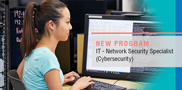 Interested in cybersecurity? Starting in fall 2017, WCTC will offer the IT-Network Security Specialist program. Learn the skills needed to protect data and prevent cyberattacks.