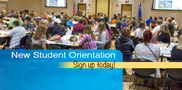Newly admitted fall program students must attend New Student Orientation prior to registering for courses. Sign up today!