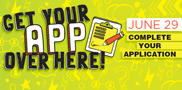 Get your missing application pieces in order at this summer's wrap-up event! On Thursday, from 3-6 p.m., WCTC staff will be on hand to help you complete (or start!) your Fall 2017 application.