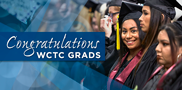 Congratulation spring graduates! May 19 marked a milestone for many WCTC students as they participated in spring commencement exercises – the culmination of their hard work and dedication to their education. Way to go, Class of 2018!